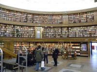 სტოკჰოლმის (შვედეთი) მთავარი საჯარო ბიბლიოთეკა
