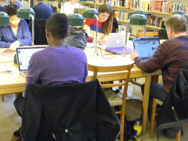 სტოკჰოლმის საჯარო ბიბლიოთეკა, სამეცნიერო დარბაზი